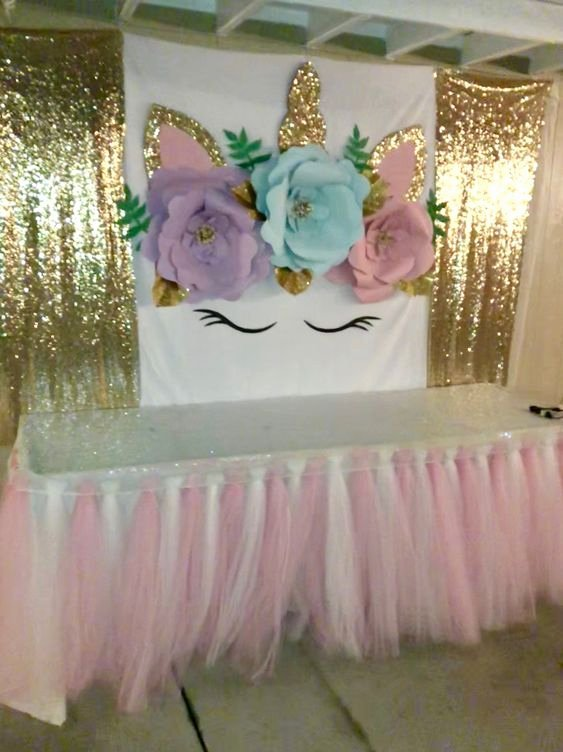 5th Birthday Decoration Ideas Lovely 5th Birthday Party Ideas Unicorn Birthday Parties Unicorn