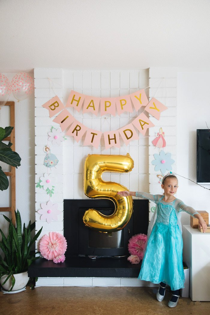 5th Birthday Decoration Ideas Luxury A Princess Party Fit for A Queen Happy 5th Birthday Skyler