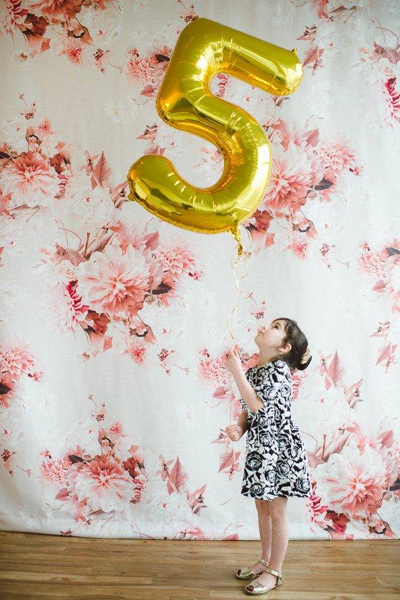 5th Birthday Decoration Ideas Luxury Floral 5th Birthday Girl S Birthday Party Ideas