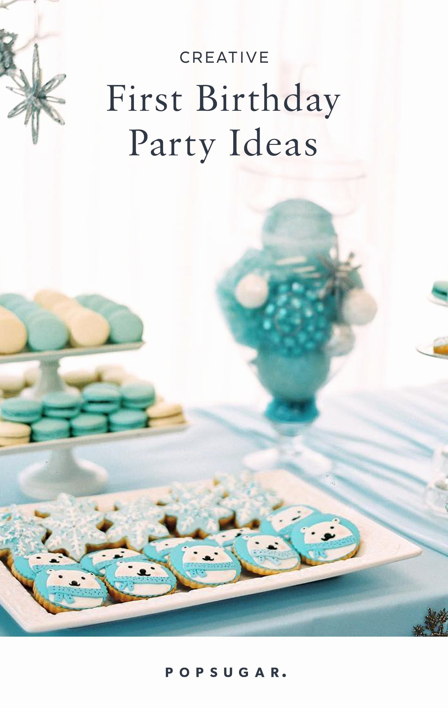 6 Months Birthday Decoration Ideas New Creative First Birthday Party Ideas