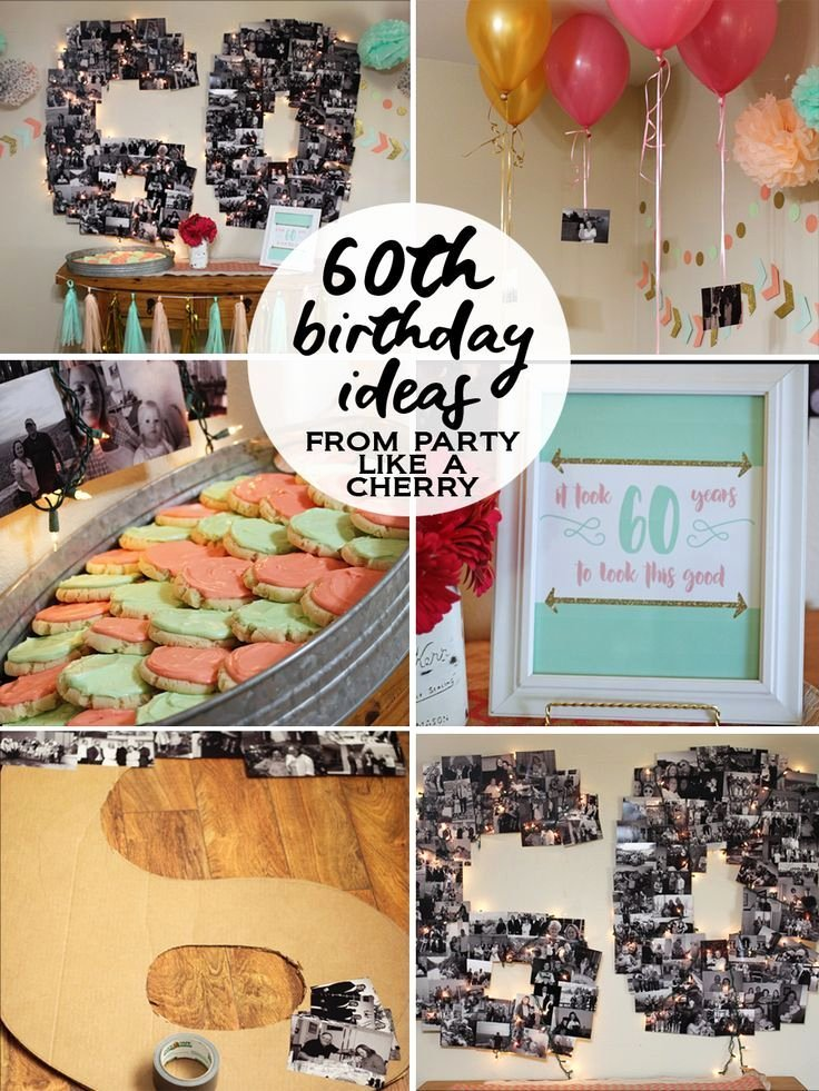 60 Year Old Birthday Decoration Ideas Lovely 60th Birthday Party Ideas Party Like A Cherry