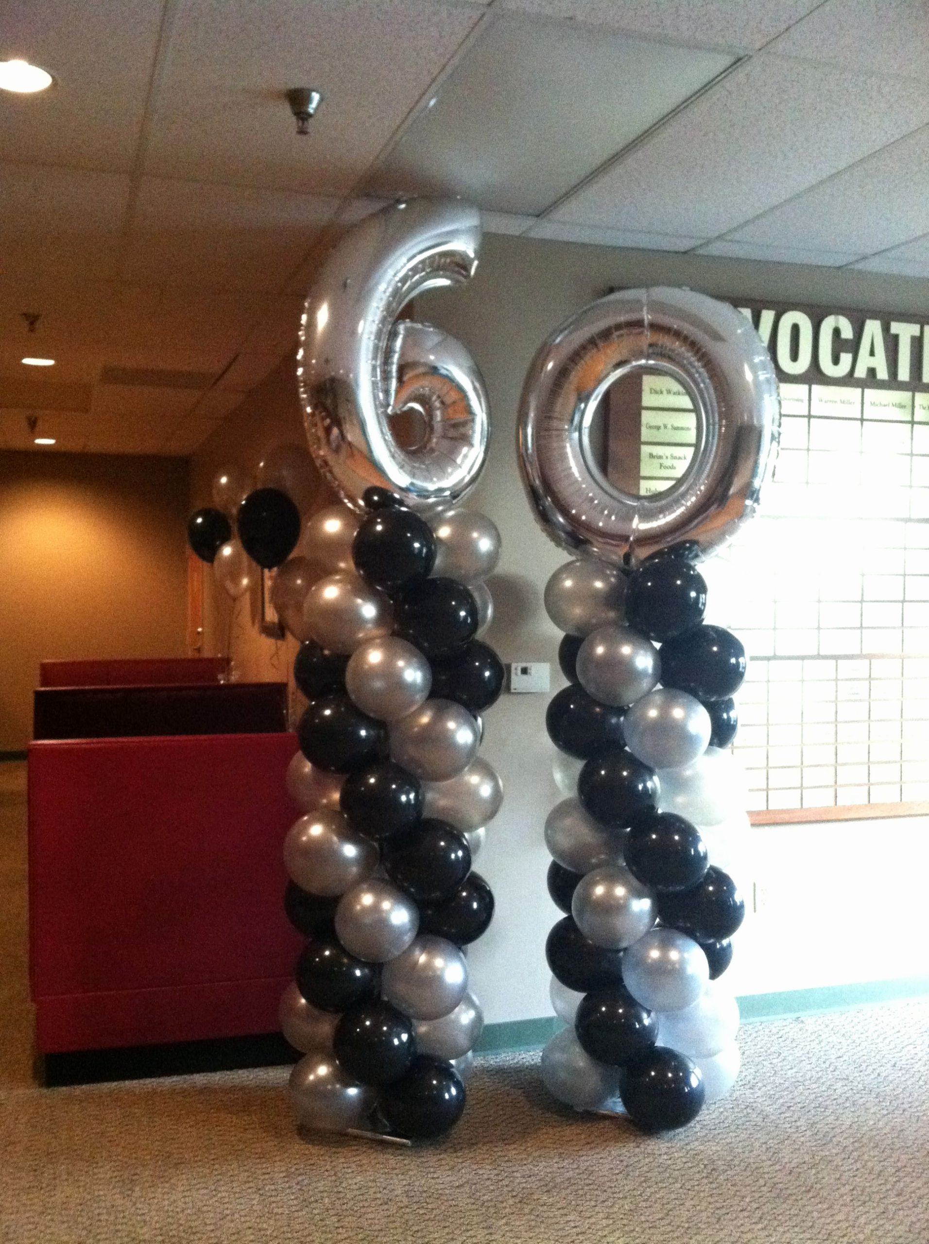 60 Year Old Birthday Decoration Ideas Lovely Pin by Marva Loons On Balloon Decorations