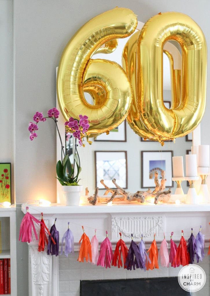 60th Birthday Decoration Ideas for Her Best Of 60th Birthday Celebration Party Ideas