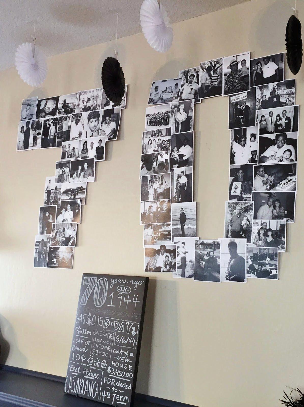 70th Birthday Decoration Ideas for Dad Fresh Easy 70th Birthday Party Ideas Planning My Dad S Milestone