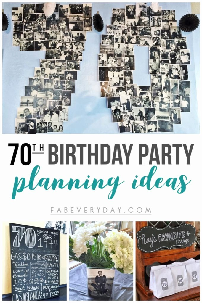 70th Birthday Decoration Ideas for Dad Luxury Easy 70th Birthday Party Ideas Planning My Dad S Milestone