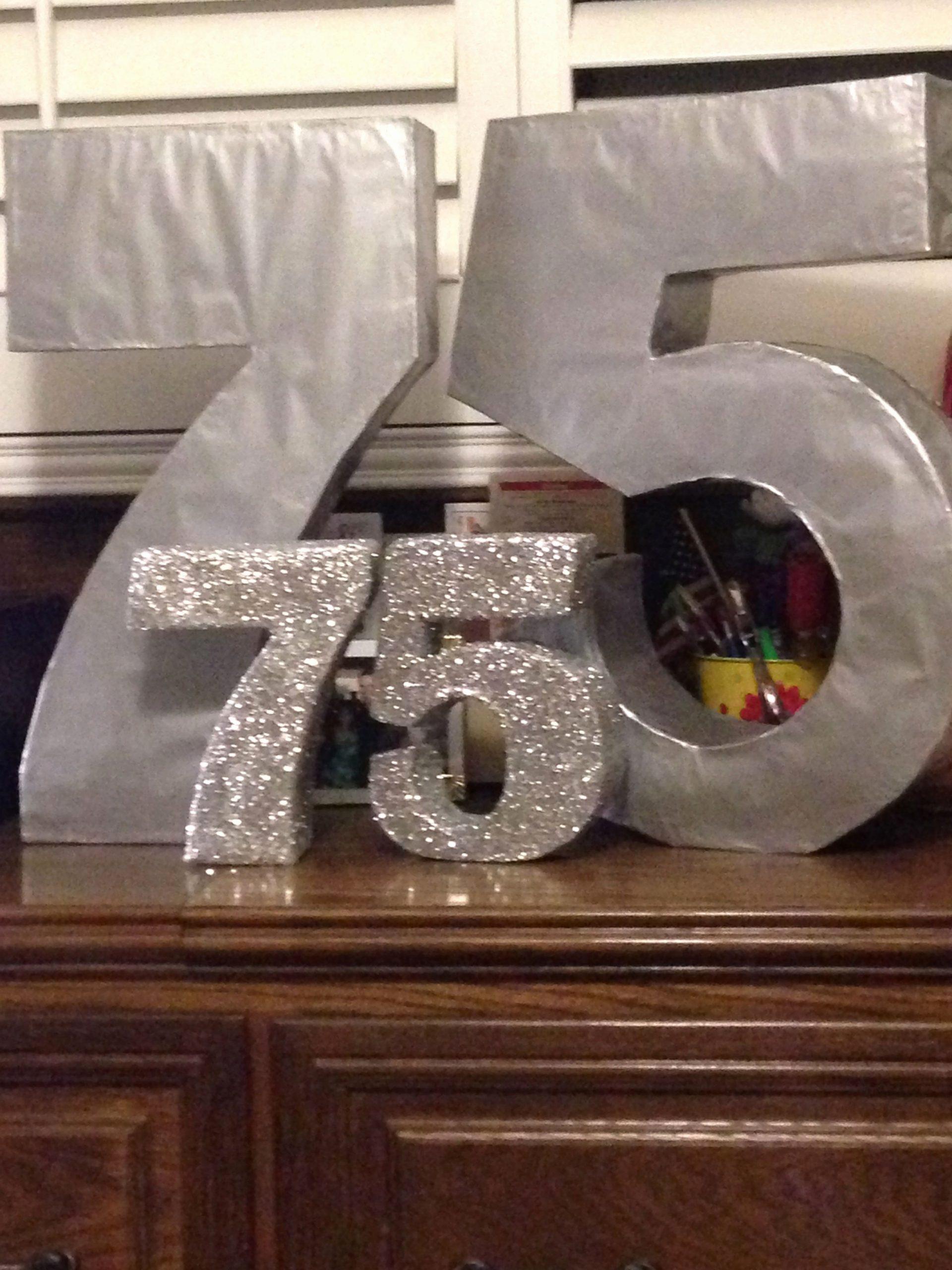 75th Birthday Decoration Ideas for Mom Fresh Pin by Tina Maske On 75th Birthday Decoration