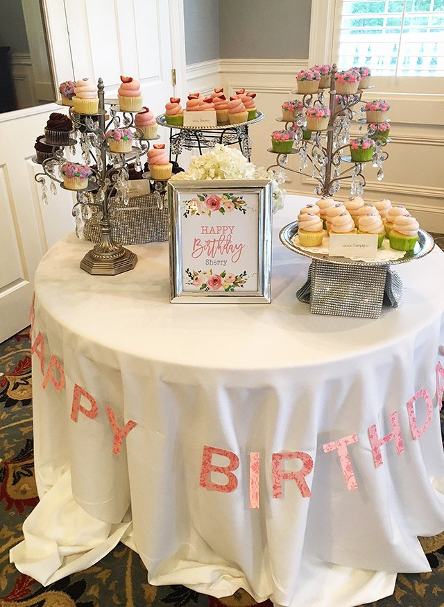 75th Birthday Decoration Ideas for Mom New My Mom S Surprise Birthday Party Celebration
