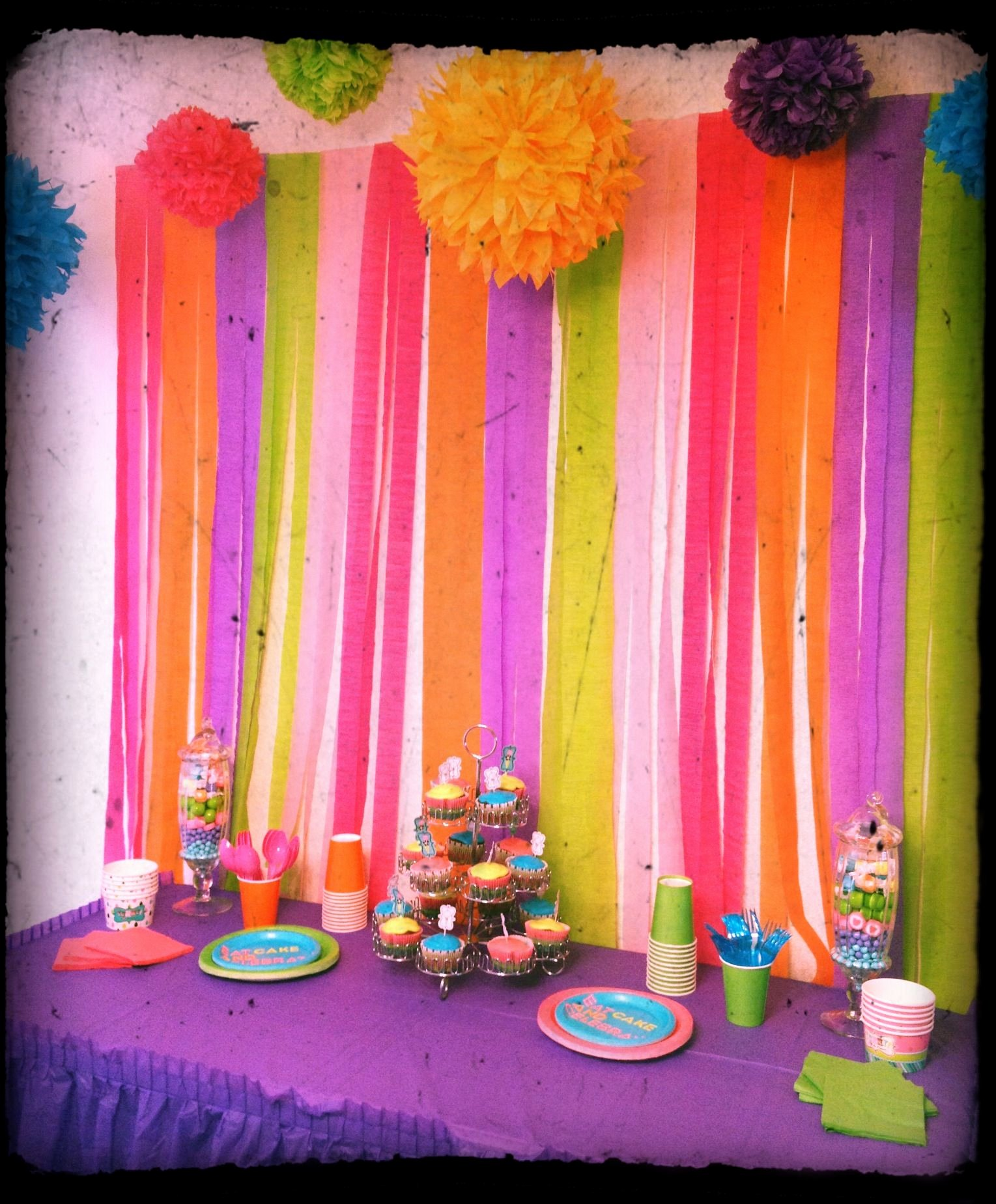 7th Birthday Decoration Ideas for Girl Awesome Pin De Amber Spinner En Sweetness 3