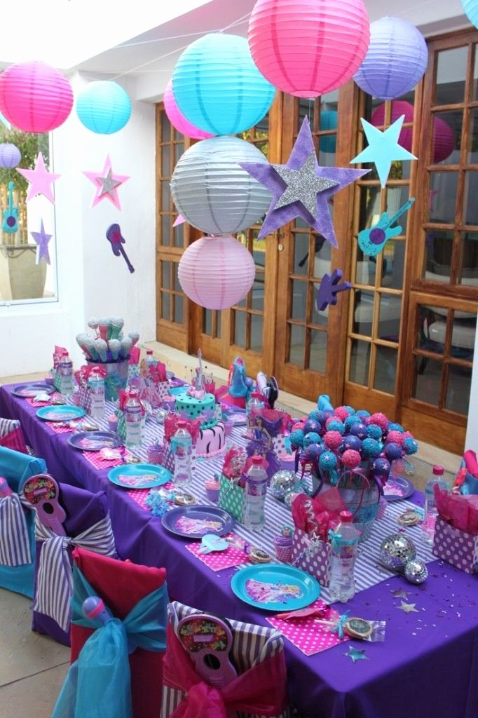 7th Birthday Decoration Ideas for Girl Beautiful Pin by Candybuffet101 On Popular Girl Birthday Party themes
