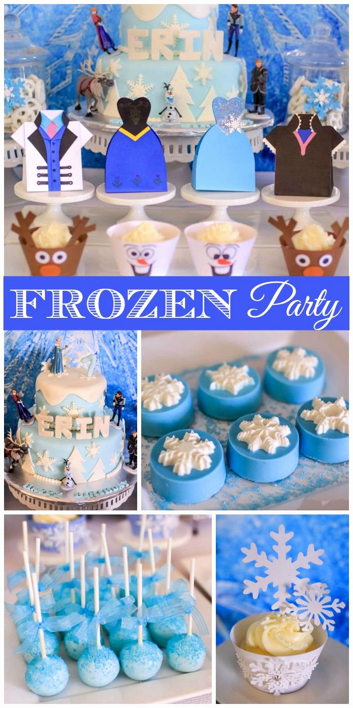 "7th Birthday Decoration Ideas for Girl New Frozen Disney Birthday ""frozen themed 7th Birthday Party"
