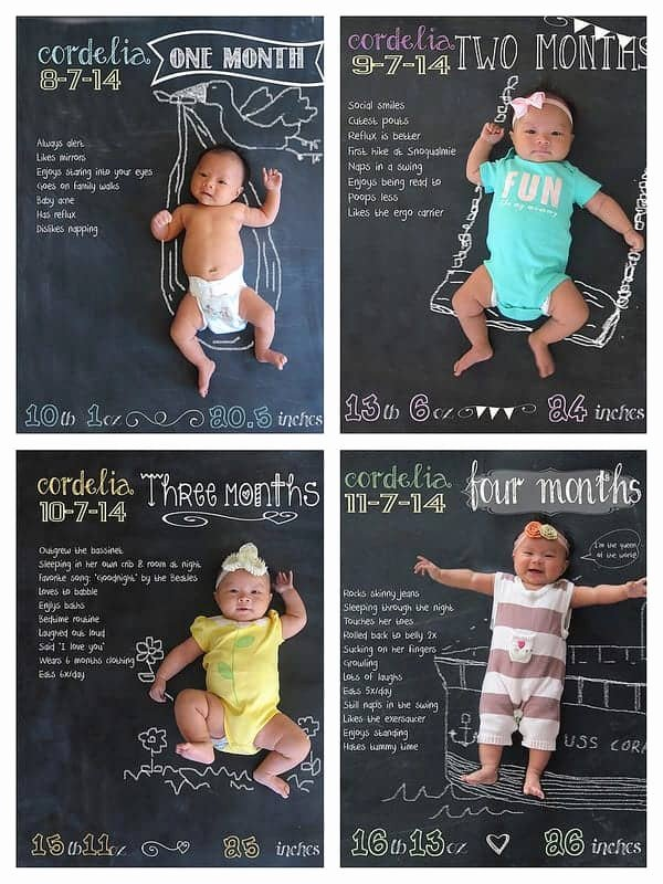 8 Month Birthday Decoration Ideas Elegant 8 Adorable Ideas for Monthly Baby S