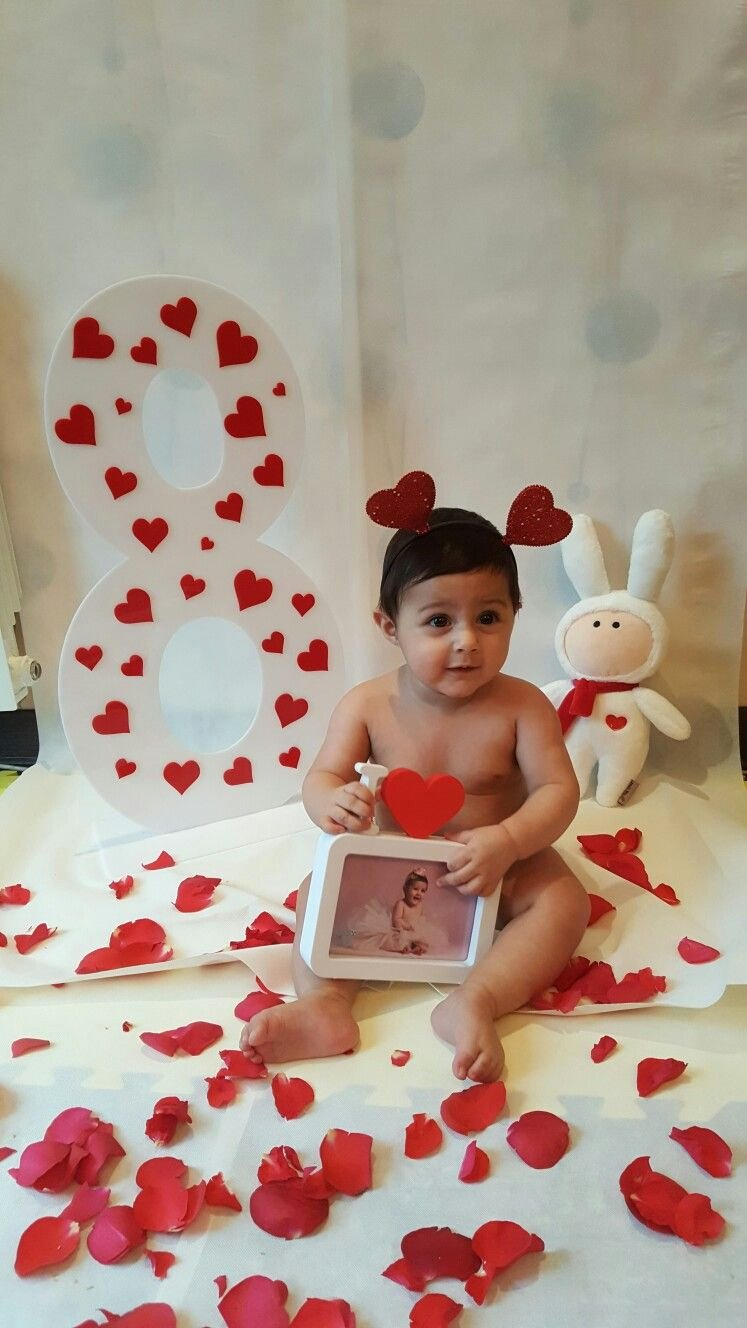 8 Month Birthday Decoration Ideas Fresh Pin by Monika Garg On E Month Old Baby with Images