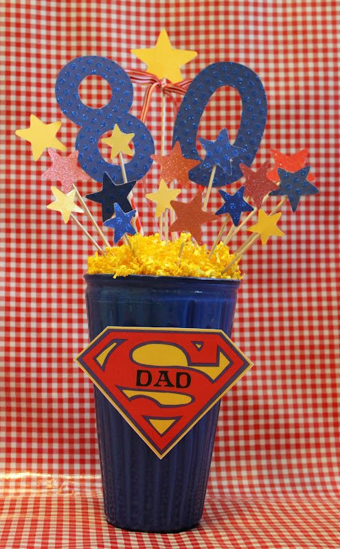80th Birthday Decoration Ideas for Dad Awesome 80th Birthday Decorations