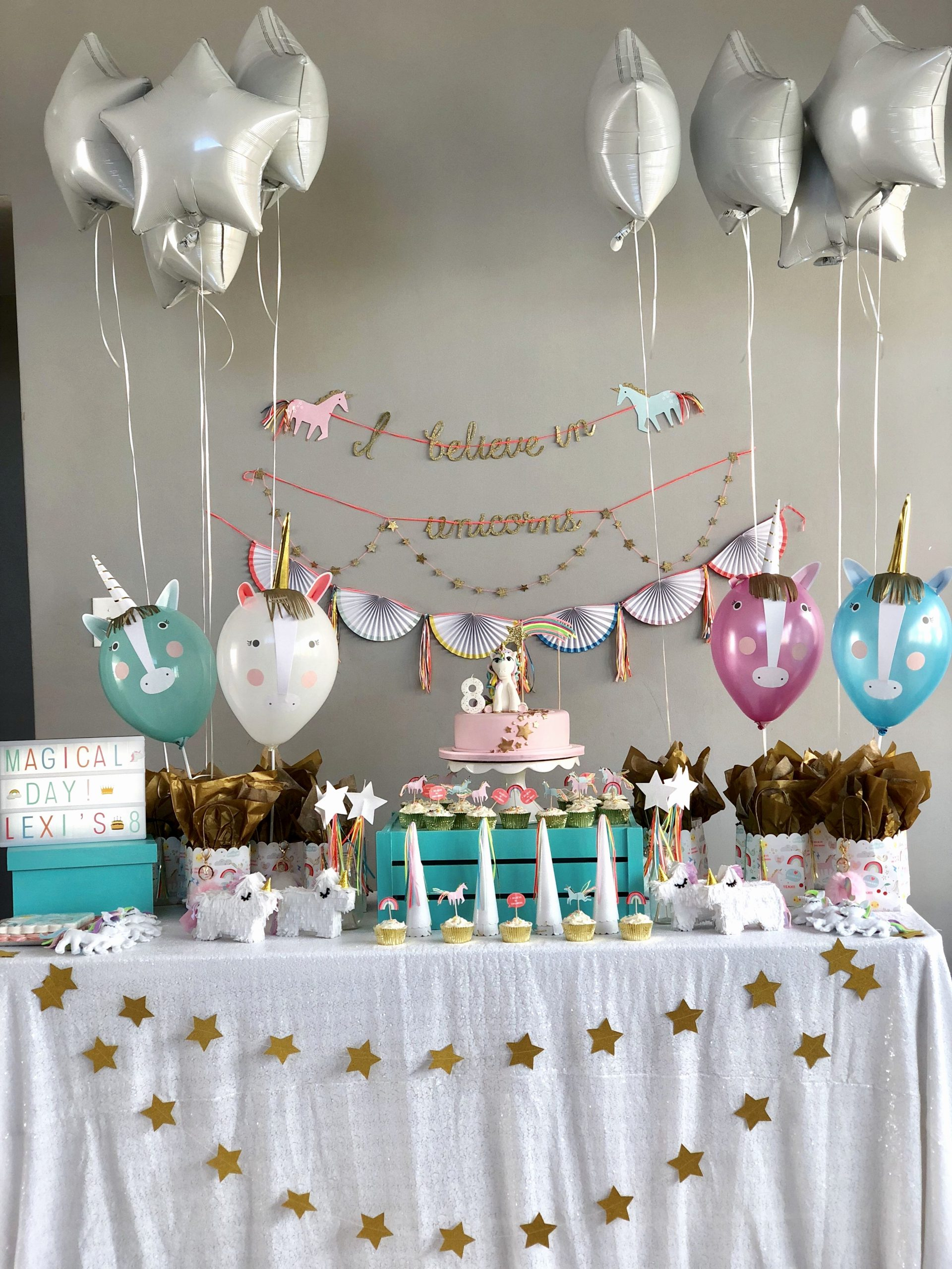 8th Birthday Decoration Ideas Fresh Unicorn Birthday Decoration Ideas