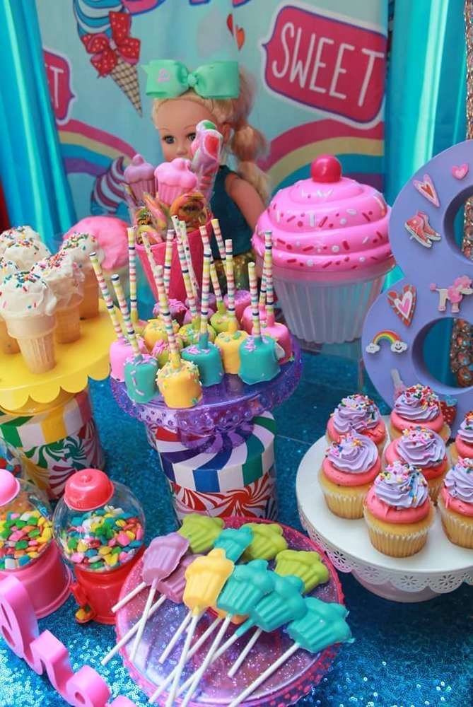 8th Birthday Decoration Ideas Unique Jojo Siwa Birthday Party Ideas 7 Of 32