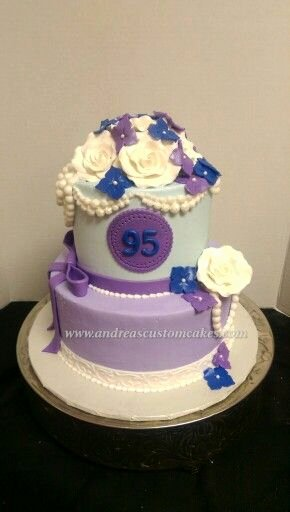 95th Birthday Decoration Ideas Beautiful 95th Birthday Cake