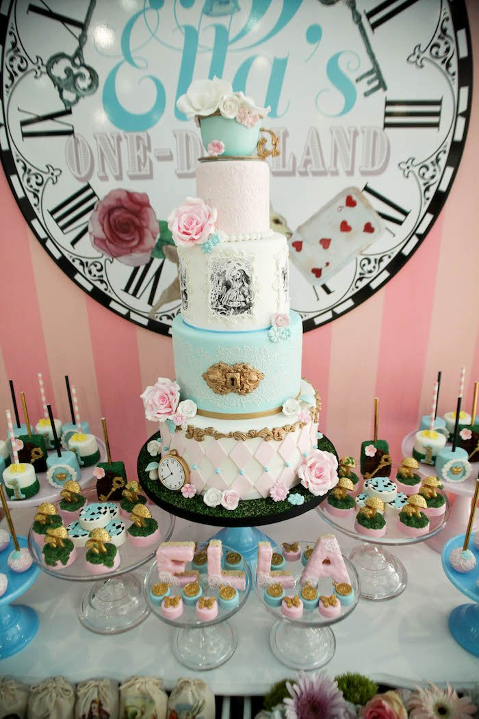 Alice In Wonderland Birthday Decoration Ideas Beautiful Kara S Party Ideas Alice In Wonderland Birthday Party