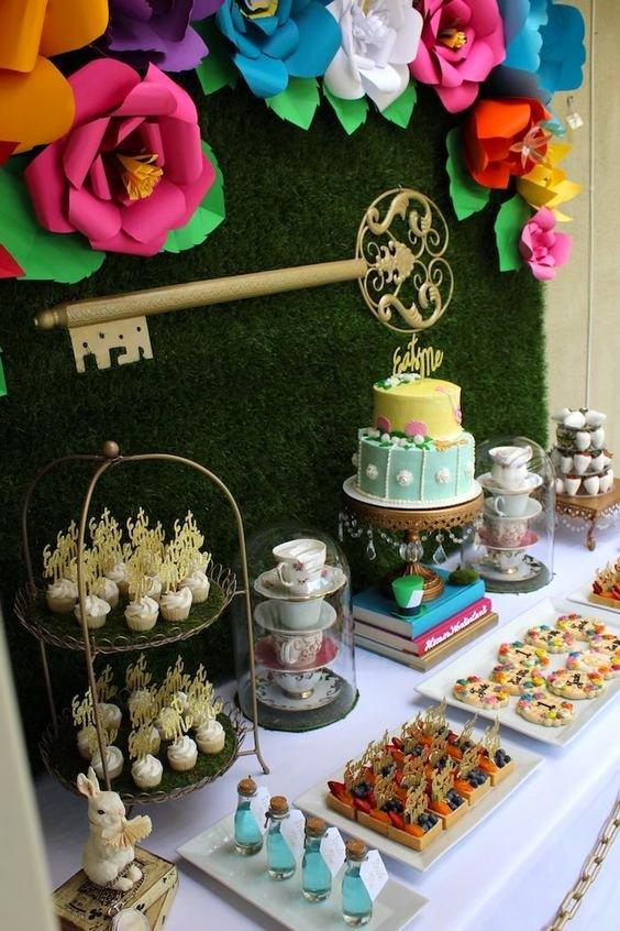 Alice In Wonderland Birthday Decoration Ideas Inspirational 32 Kids Alice In Wonderland Party Ideas Shelterness