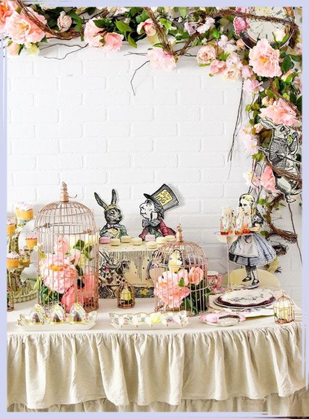 Alice In Wonderland Birthday Decoration Ideas Inspirational Alice In Wonderland Party Ideas for A Very Merry Un