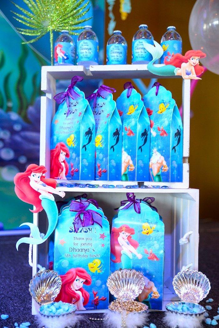Ariel Birthday Decoration Ideas Beautiful Kara S Party Ideas Ariel the Little Mermaid Birthday Party