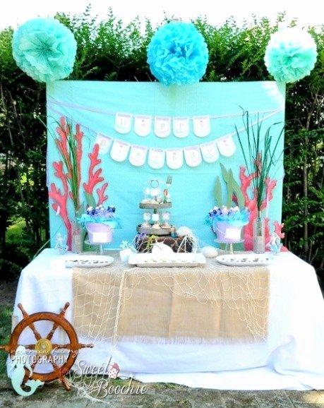 Ariel Birthday Decoration Ideas Best Of Little Mermaid Birthday Party Ideas – Pink Lover