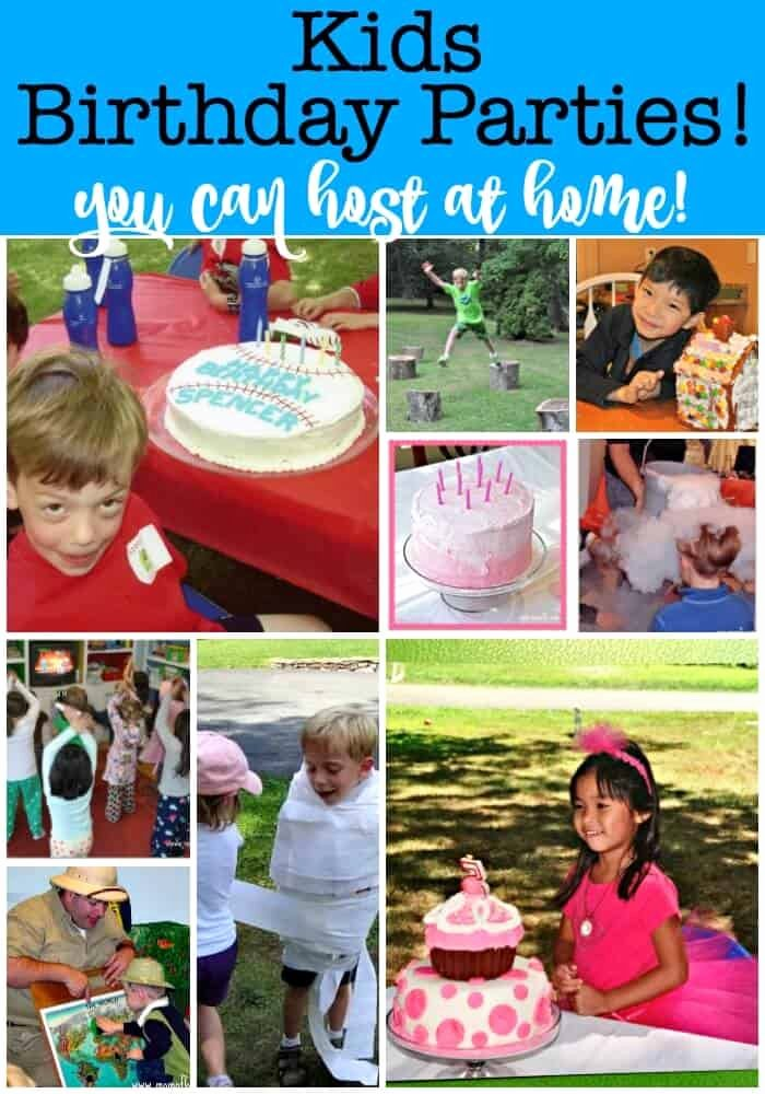 At Home Birthday Decoration Ideas Luxury How to Throw Kids Birthday Parties at Home Mom 6