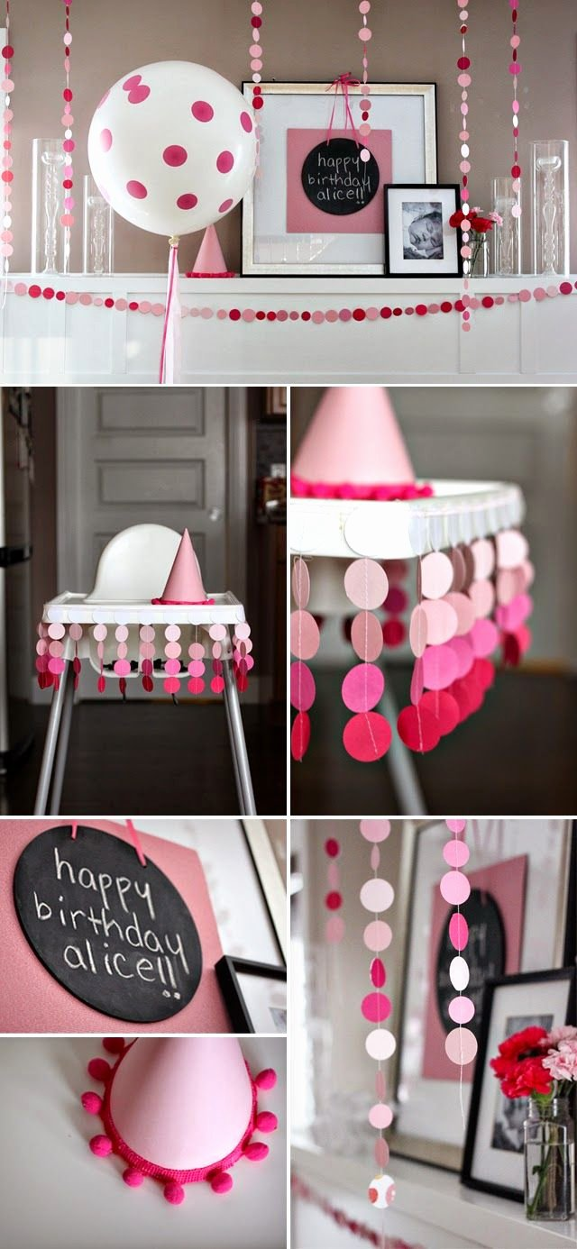 Baby 1st Birthday Decoration Ideas Elegant 34 Creative Girl First Birthday Party themes and Ideas