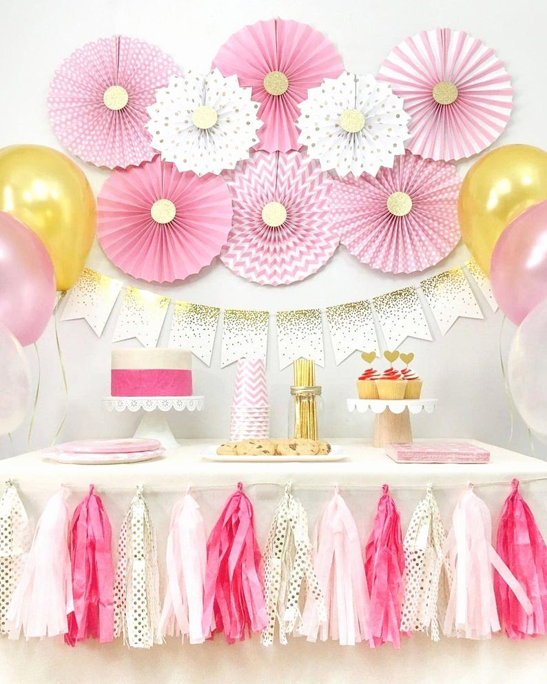 Baby Birthday Decoration Ideas at Home Best Of 13 Best Girls Birthday Decorations for at Home Images On