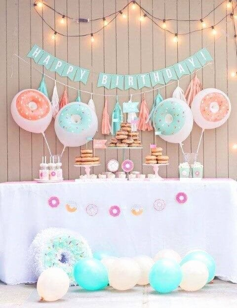 Baby Birthday Decoration Ideas at Home Luxury Simple Birthday Decoration Ideas at Home for Girl