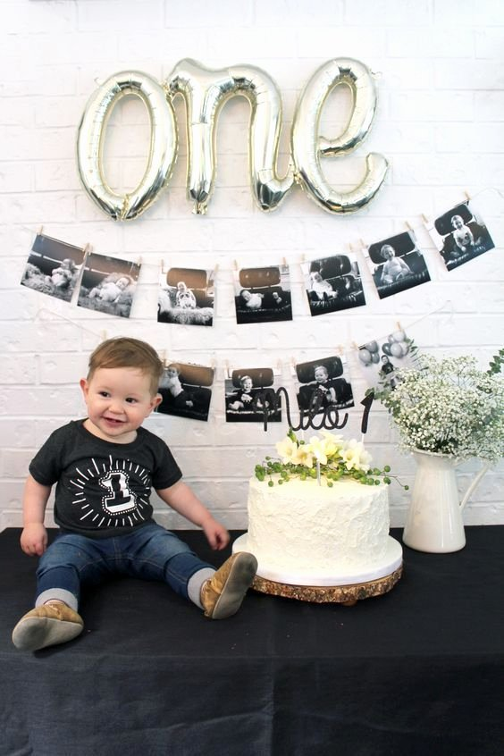 Baby Boy 1st Birthday Decoration Ideas at Home Elegant Milo S First Birthday Party We Went with A Woodland Rustic