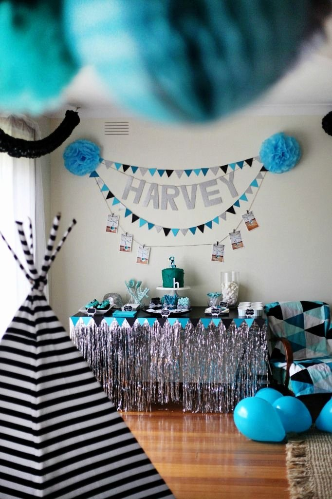 Baby Boy 1st Birthday Decoration Ideas at Home Inspirational Geometric 1st Birthday Party Project Nursery