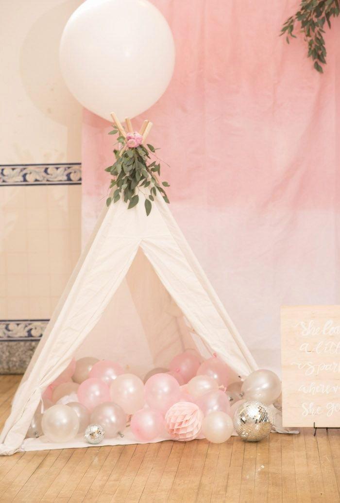 Baby Girl 2nd Birthday Decoration Ideas Fresh Pink Boho 2nd Birthday Party