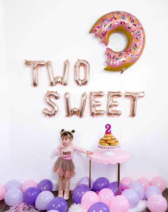 Baby Girl 2nd Birthday Decoration Ideas Lovely Pin On C E L E B R A T I O N S