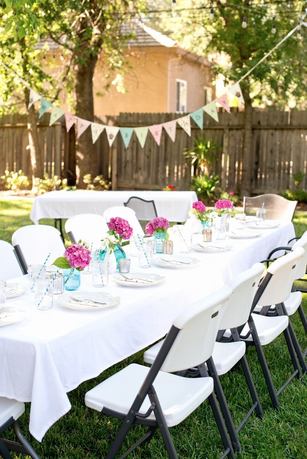 Backyard Birthday Decoration Ideas New Backyard Idea Low Bud Garden Party Decorations Ideas for