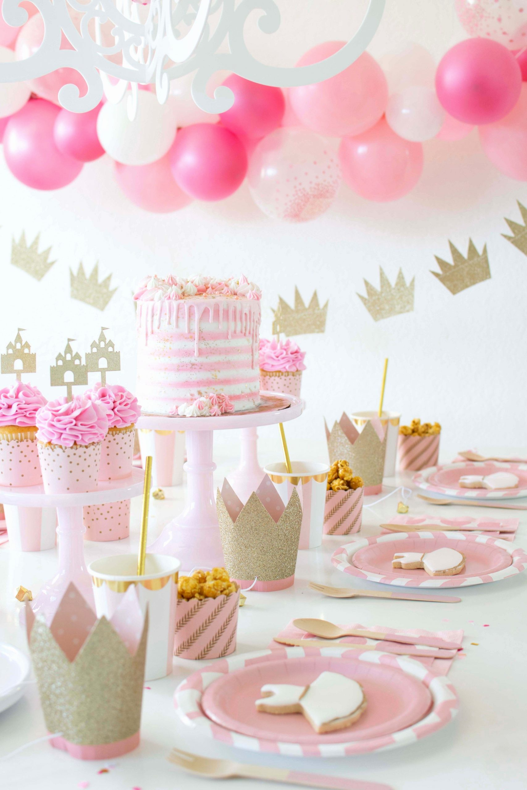 Ballerina Birthday Decoration Ideas Awesome A Sweet Pink & Gold Ballerina Princess Inspired Party
