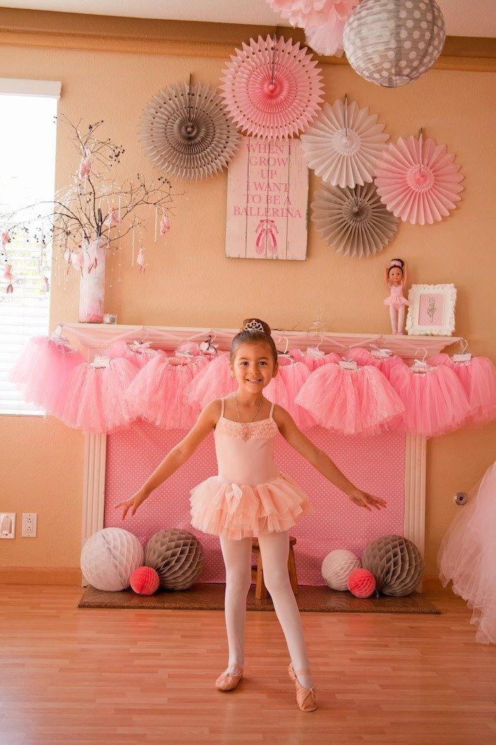 Ballerina Birthday Decoration Ideas Inspirational Ballerina themed Birthday Party Ideas Decor Planning