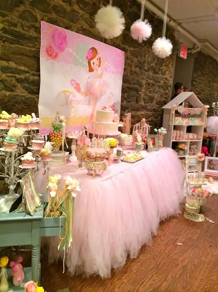 Ballerina Birthday Decoration Ideas Lovely Sweet Ballerina Party Ideas Supplies Decorations