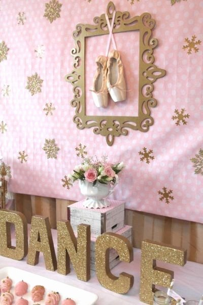 Ballerina Birthday Decoration Ideas Luxury 60 Diy Ballerina Birthday Party Ideas