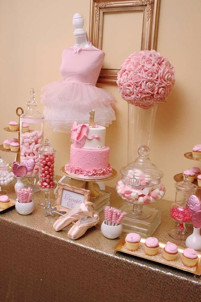 Ballerina Birthday Decoration Ideas New Ballerina Birthday Party Ideas 8 Of 37