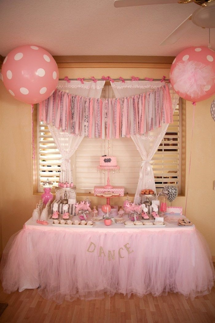 Ballerina Birthday Decoration Ideas Unique Ballerina themed Birthday Party Ideas Decor Planning