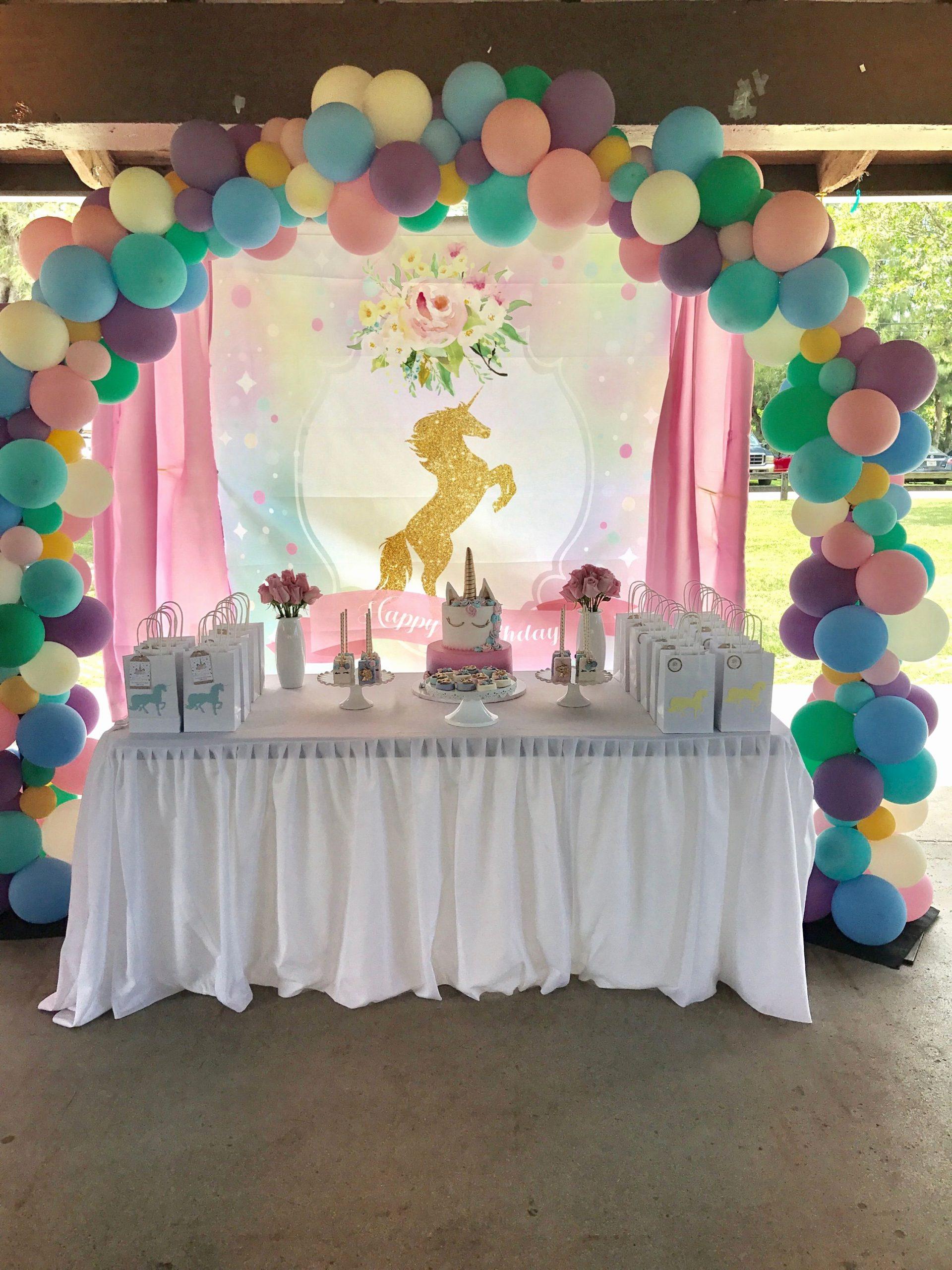 Banquet Hall Birthday Decoration Ideas Luxury Unicorn Birthday Party by Premiere Party Rental