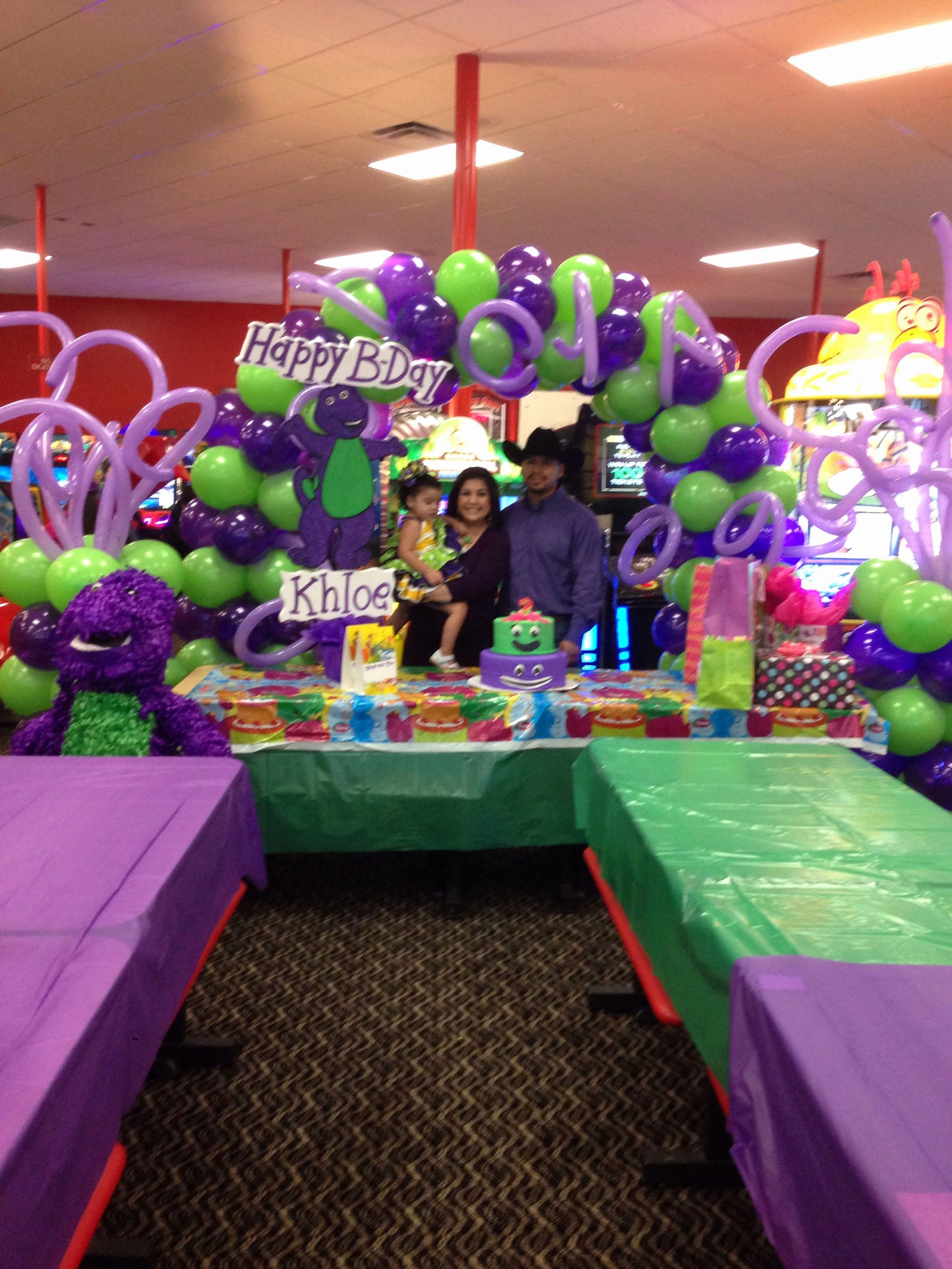 Barney Birthday Decoration Ideas Awesome Pin by Bianca Castillo On Barney Birthday Party
