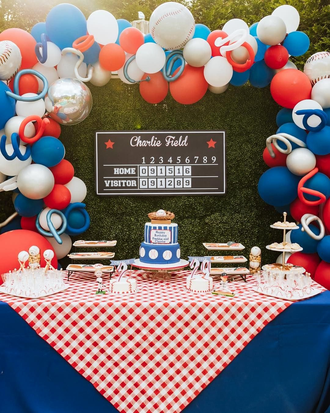 Baseball Birthday Decoration Ideas Lovely Baseball Birthday Party Credit Ace Creative events