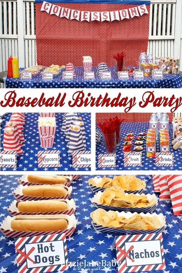 Baseball Birthday Decoration Ideas Unique 33 Awesome Birthday Party Ideas for Boys