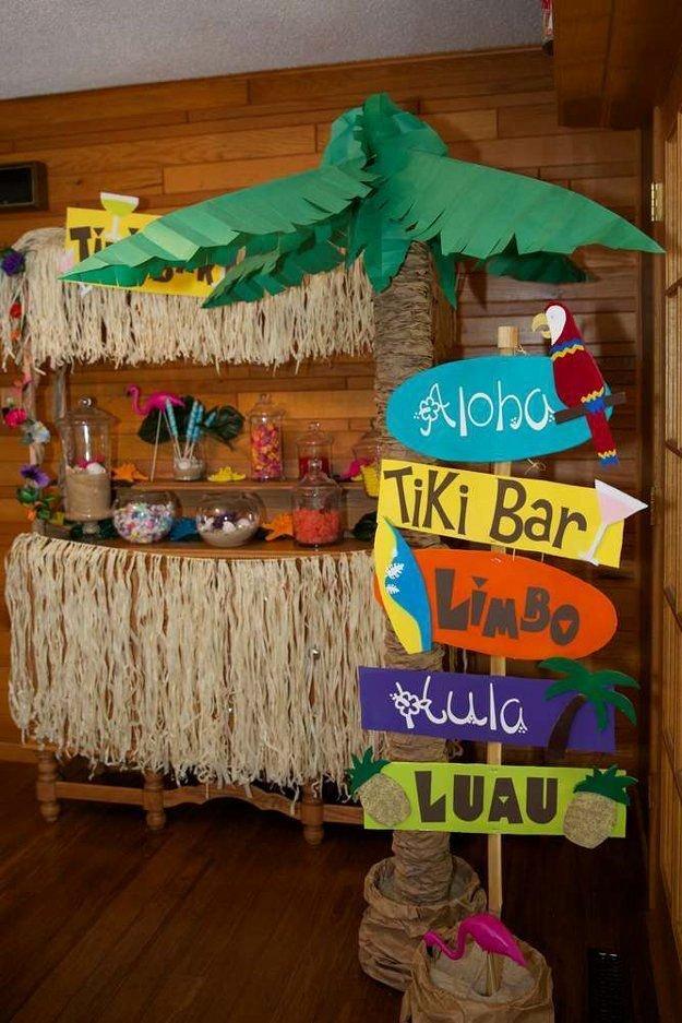 Beach Birthday Decoration Ideas Elegant Diy Beach Party Ideas for Your Beach themed Celebration