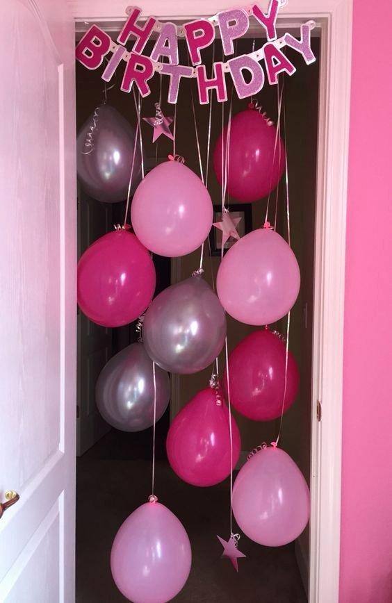 Bedroom Birthday Decoration Ideas Fresh Birthday Room Decoration Ideas for Best Friend astounding