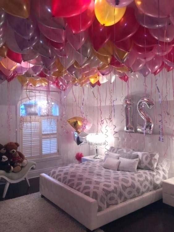 Bedroom Birthday Decoration Ideas Luxury Birthday Room Decoration Ideas for Wife