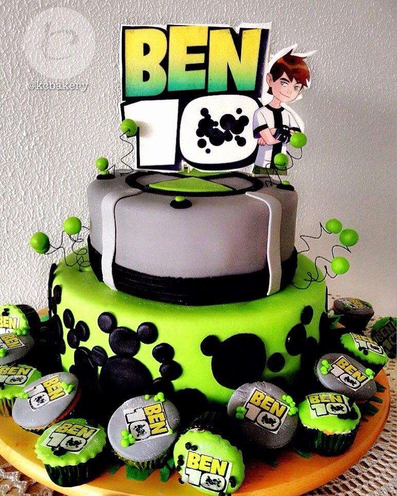 Ben 10 Birthday Decoration Ideas Lovely Ben 10 Cake