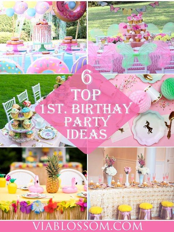 Best First Birthday Decoration Ideas New 6 Best Girl 1st Birthday Party Ideas Via Blossom