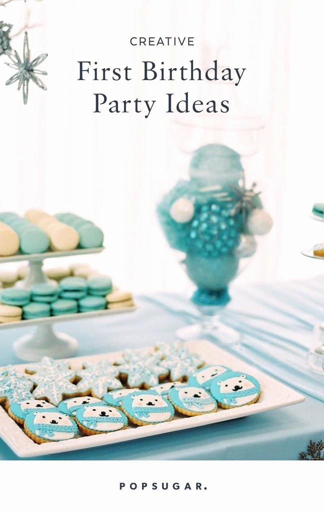 Best First Birthday Decoration Ideas Unique Creative First Birthday Party Ideas